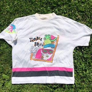 Tops - Vintage Tropical Fruit Woman's  T Shirt